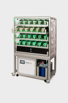 24 Port ICOS Flasksampler with ICOS AirDryer